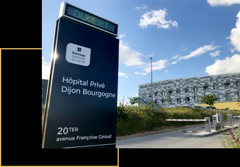 Le service de chirurgie esthétique, plastique et réparatrice à l'hôpital privé Dijon, Bourgogne